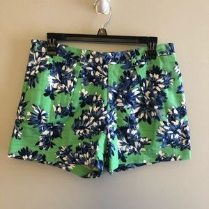 J. Crew Tap Short in Photo Floral Sz 6